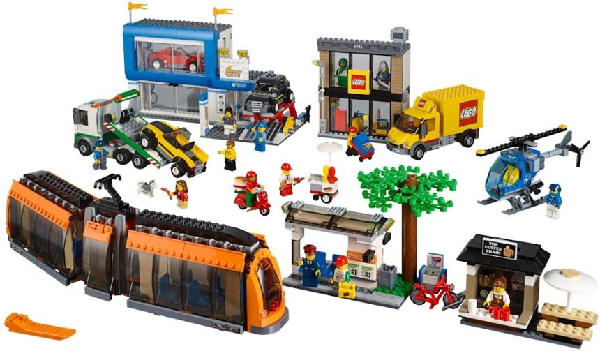 Top 10 biggest City sets: City Square