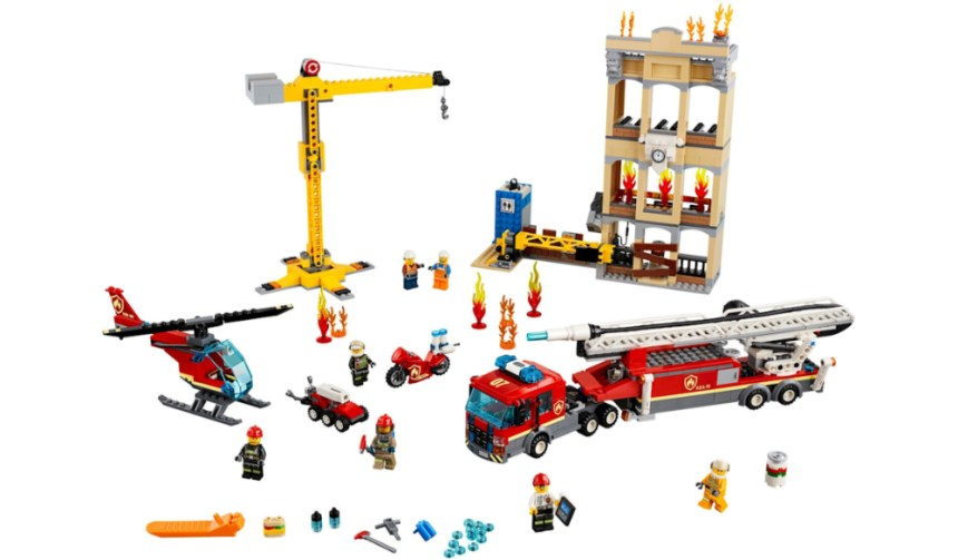 Top 10 biggest City sets: Downtown Fire Brigade