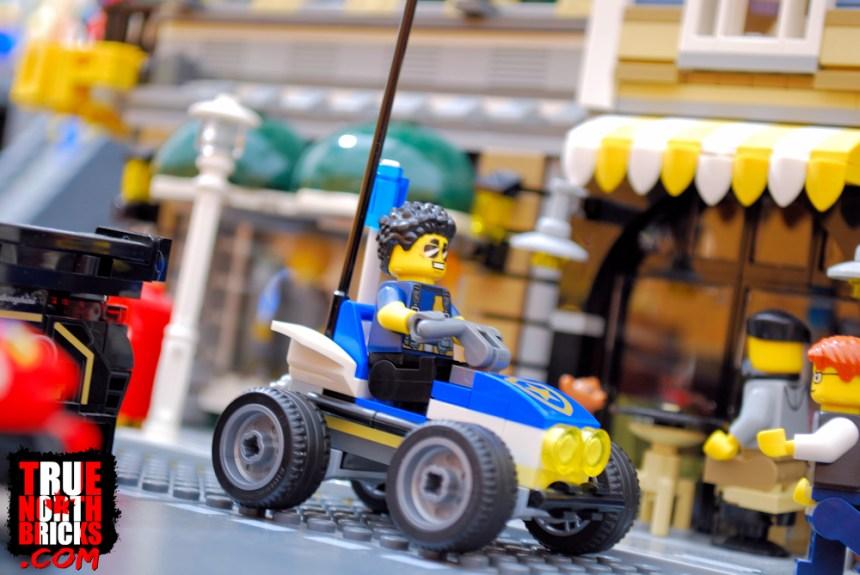 Police four-wheeler