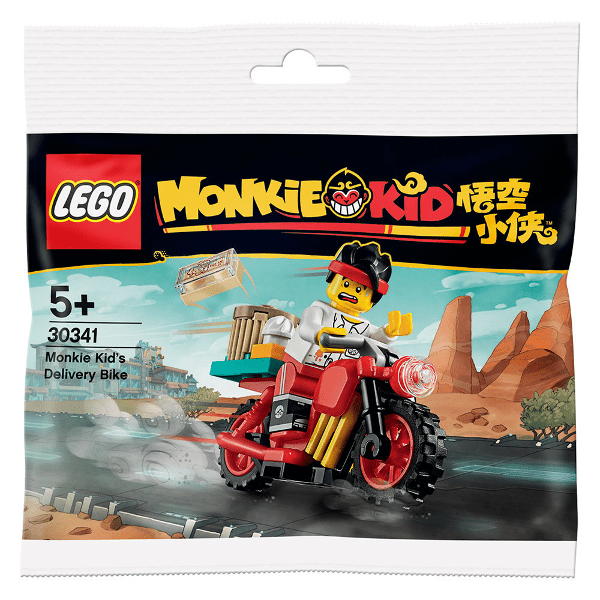 September 2020 calendar: Monkie Kid's Delivery Bike gift with purchase