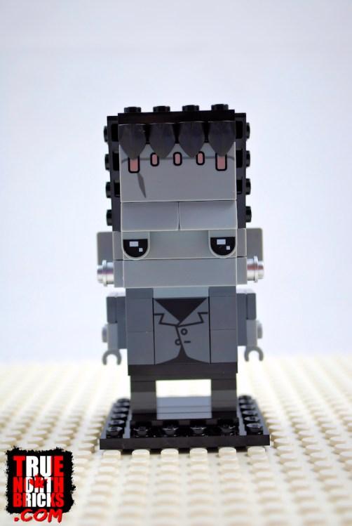 BrickHeadz Frankenstein (40422) front view.