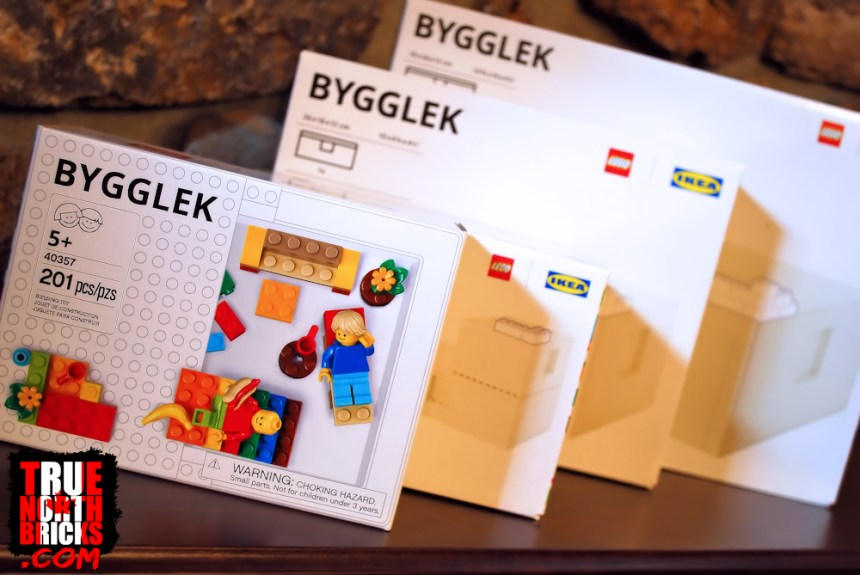 BYGGLEK storage boxes