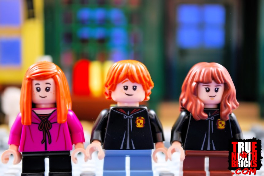 Diagon Alley (75978) Ginny, Ron, and Hermione