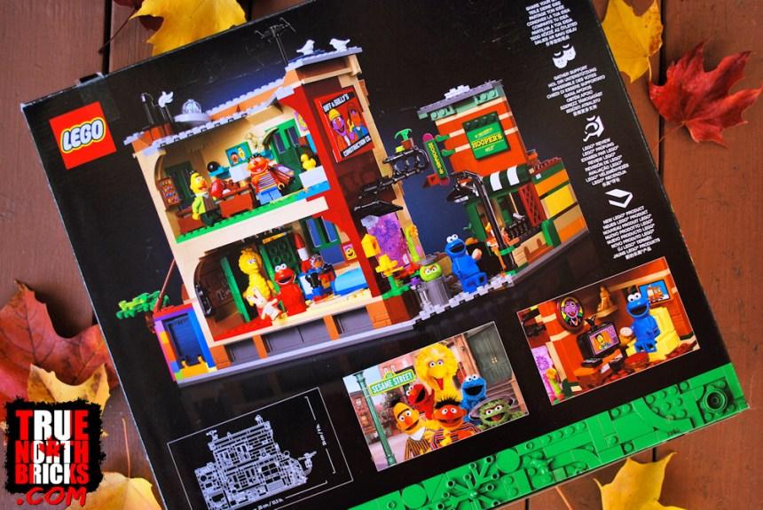 Sesame Street (21324) rear box art.