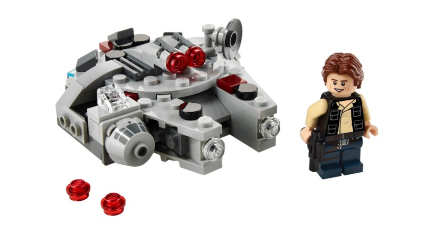 January 2021 Star Wars Millennium Falcon Microfighter