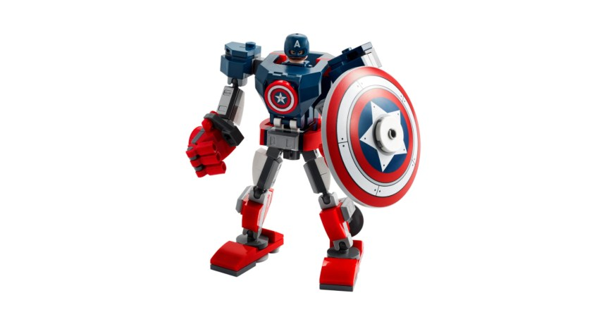 January 2021 Marvel Superheroes: Captain America Mech Armor