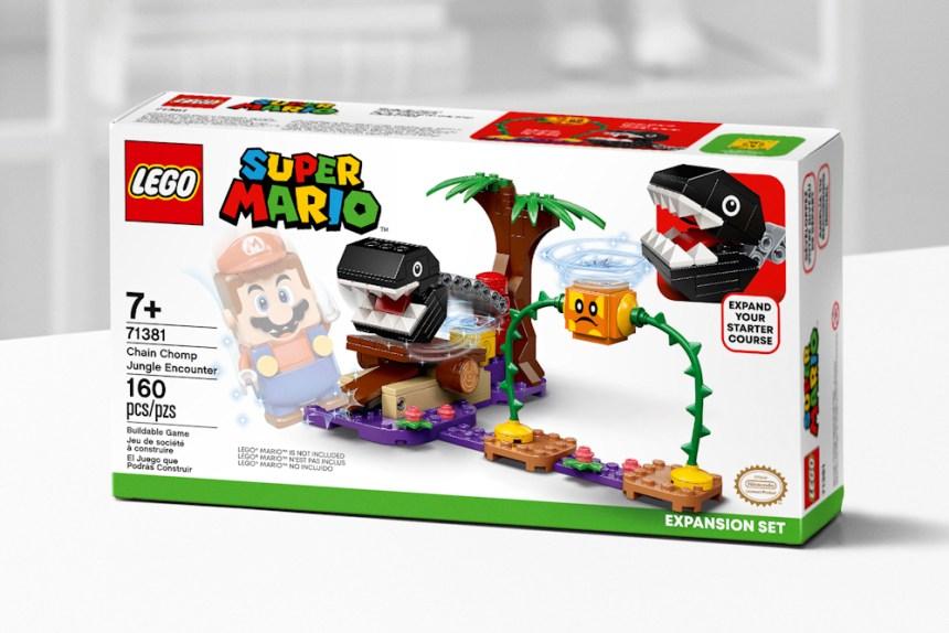 January 2021 Super Mario Chain Chomp Jungle Encounter