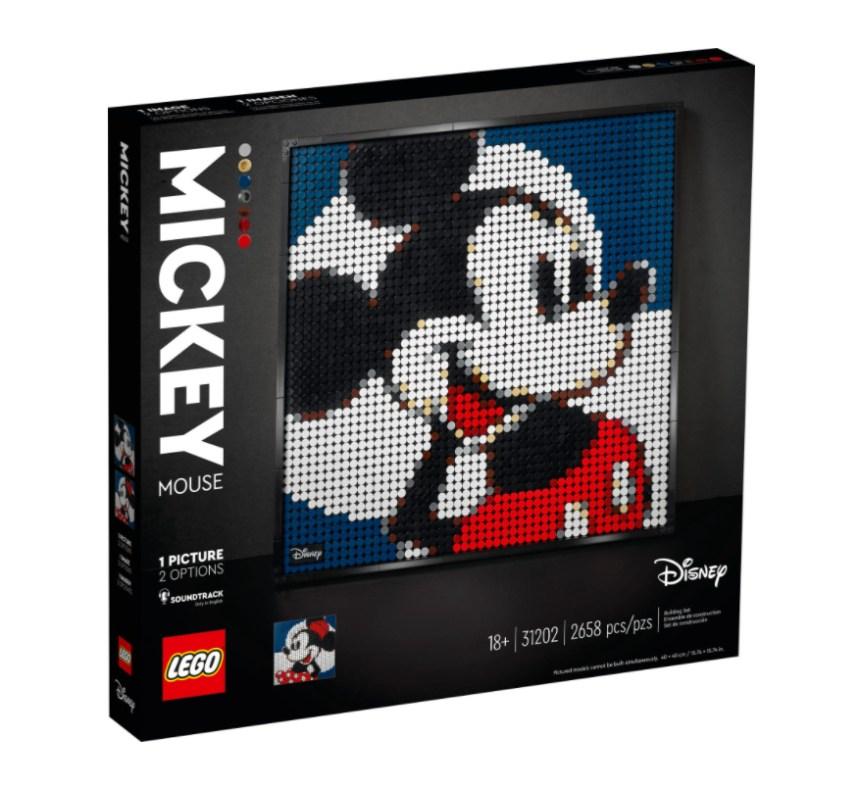 January 2021 LEGO® Art: Mickey Mouse