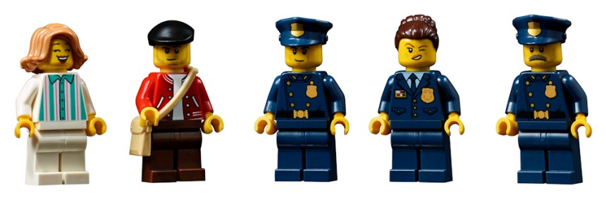 Police Station (10278) Minifigures