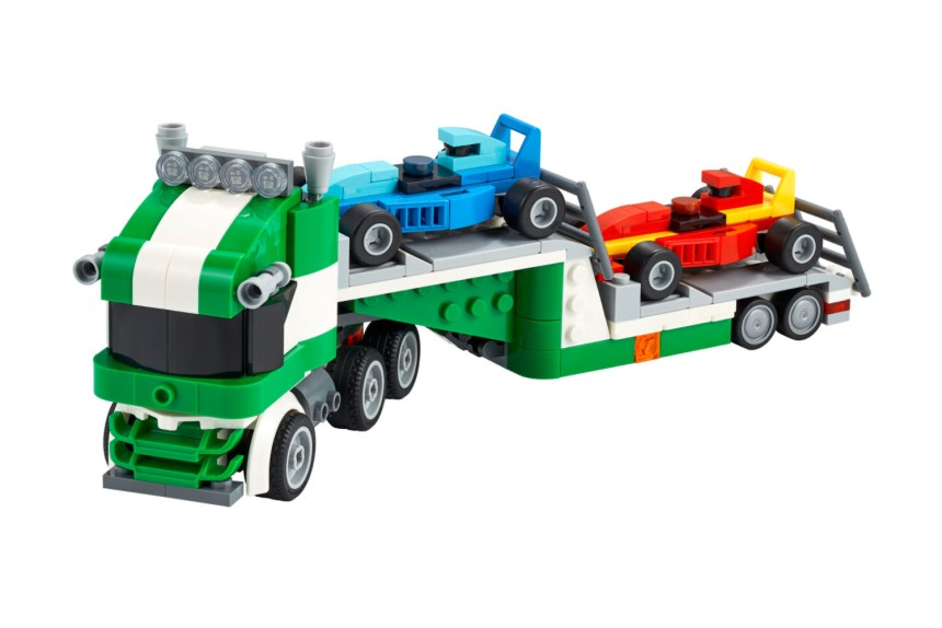 January 2021 Creator Racecar Transporter
