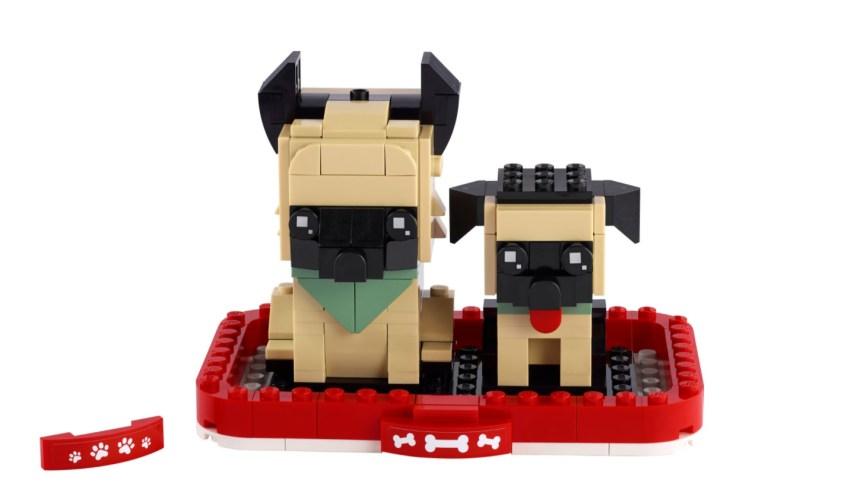 More January 2021 sets from LEGO: German Sheppard BrickHeadz