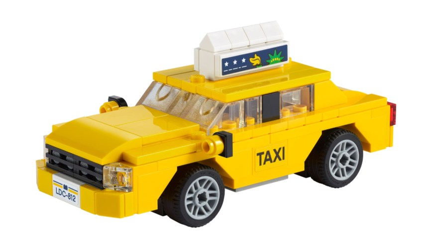 More January 2021 sets from LEGO: Yellow Taxi