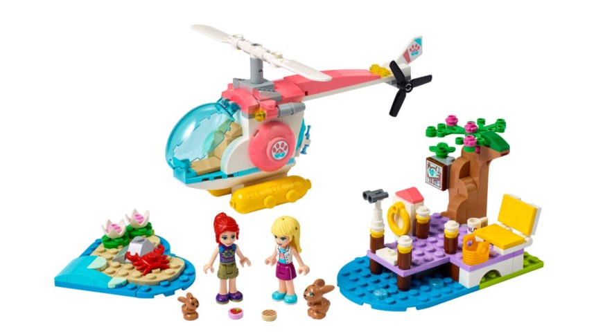 More January 2021 sets from LEGO: Vet Clinic Rescue Helicopter