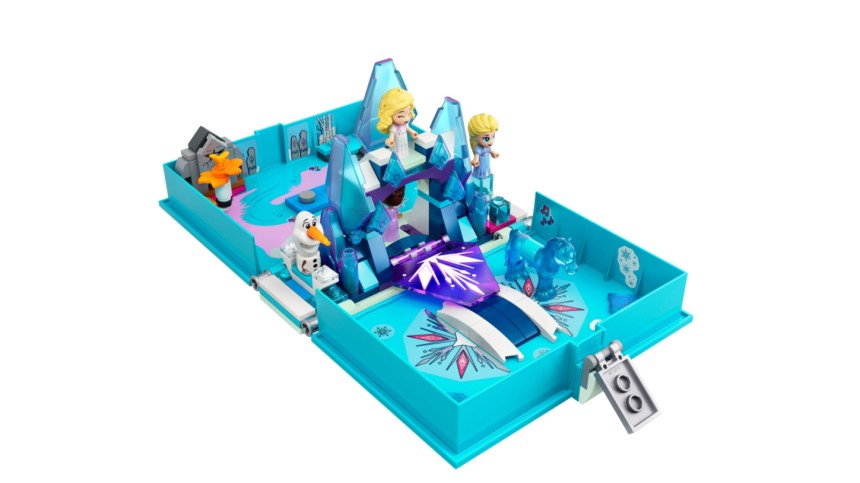 More January 2021 sets from LEGO: Elsa and the Nokk Storybook Adventure