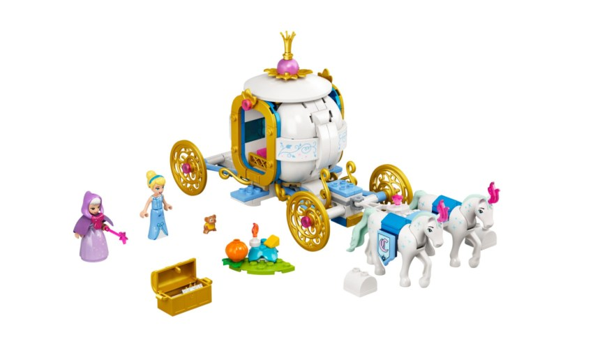 More January 2021 sets from LEGO: Cinderella's Royal Carriage