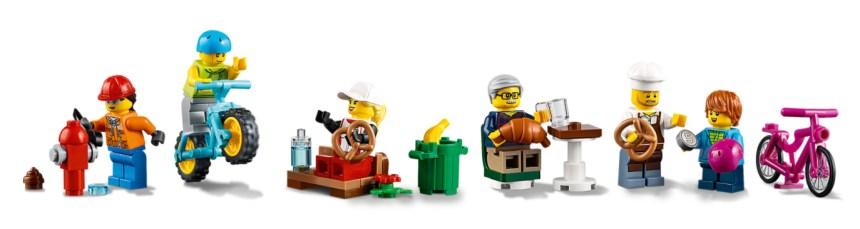 More January 2021 LEGO sets: Shopping Street Minifigures.