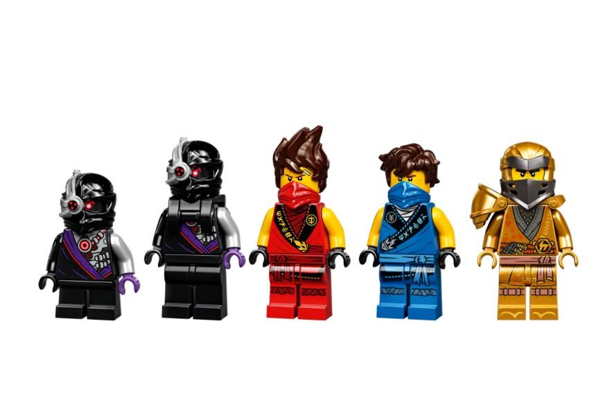 January 2021 Ninjago X-1 Ninja Charger Minifigures.