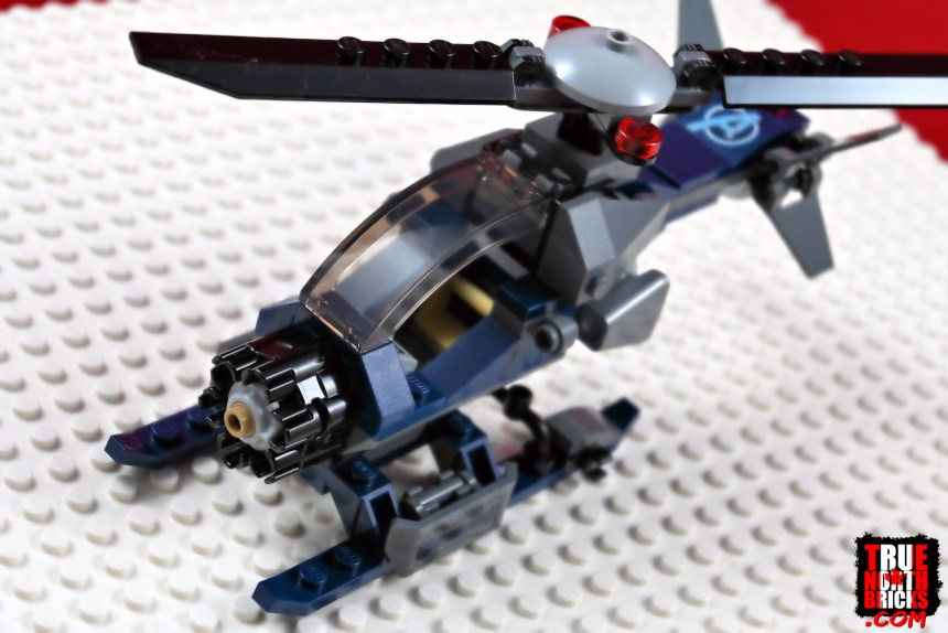 Helicopter from Avengers Compound Battle