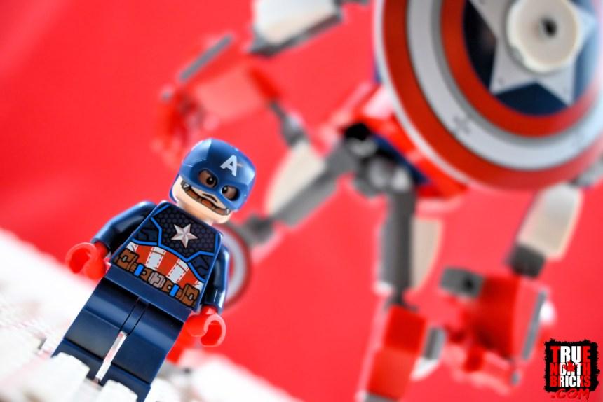Captain America Mech Armor