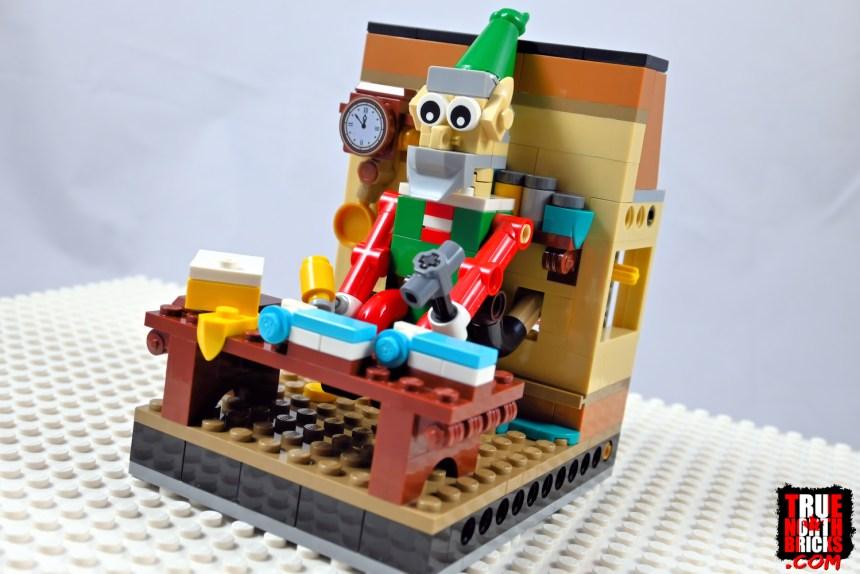 2020 Employee Christmas Gift automaton elf.