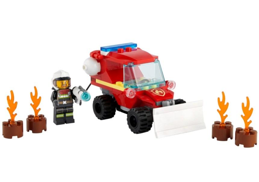 January 2021 City Sets: Fire Hazard Truck
