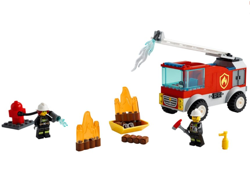 January 2021 City Sets: Fire Ladder Truck