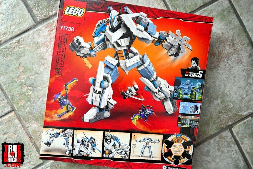 Titan Mech Battle box art.
