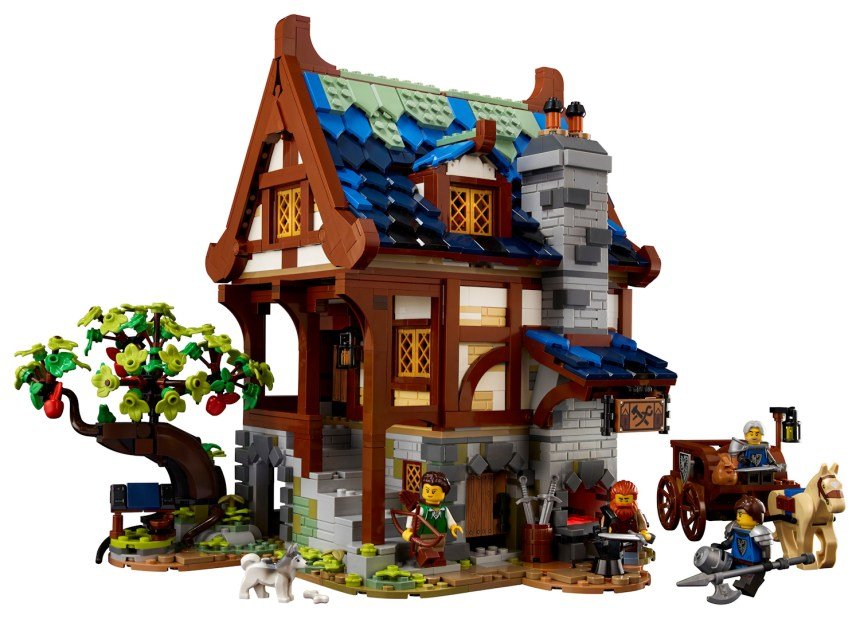 Medieval Blacksmith coming soon from LEGO Ideas