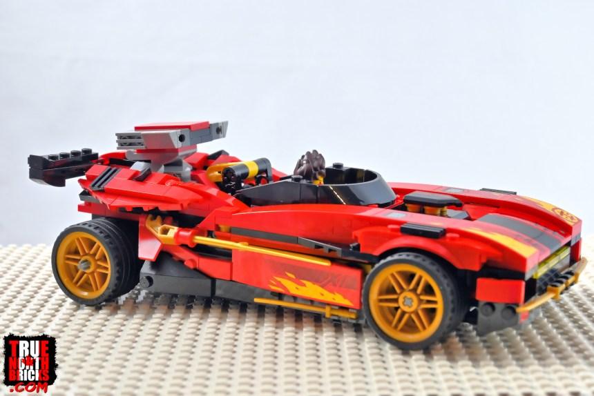 X-1 Ninja Charger side view