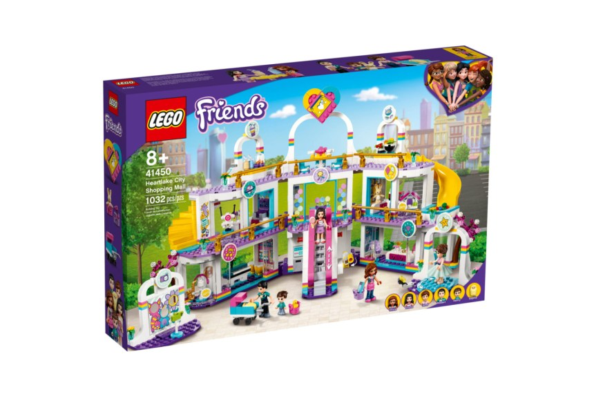 March 2021 Friends sets: Heartlake City Shopping Mall