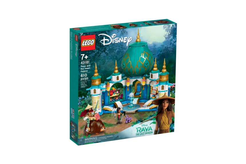 March 2021 Disney Sets: Raya and the Heart Palace