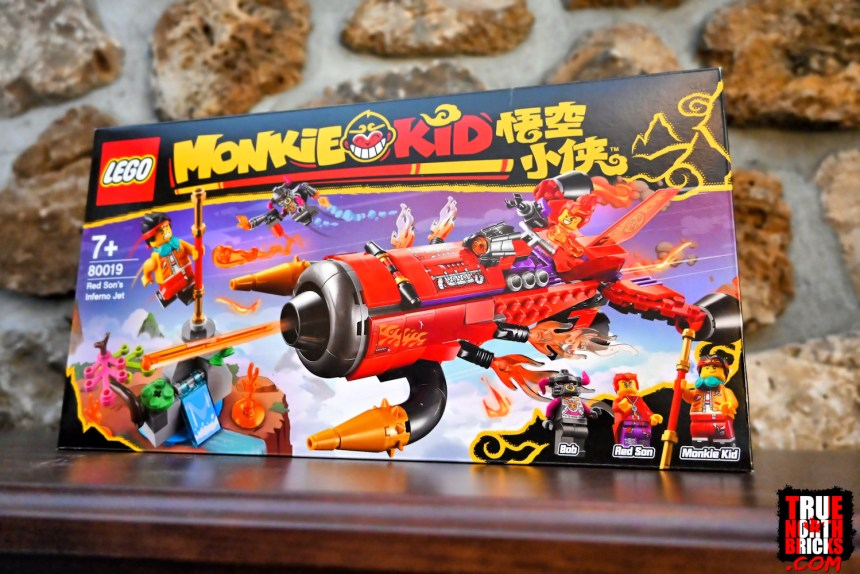 March 2021 Monkie Kid Sets: Red Son's Inferno Jet