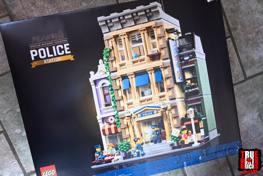 Police Station from my February 2021 LEGO® Haul.