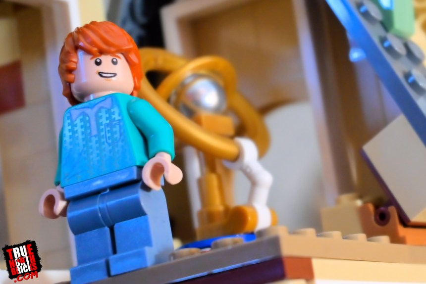Ron in the Hogwarts Astronomy Tower (75969).