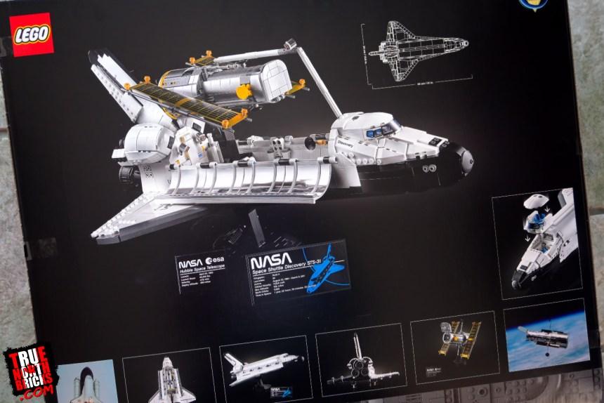 NASA Space Shuttle Discovery box art.