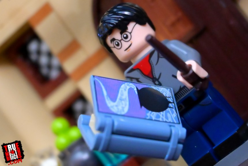 Harry Potter from the second wave of Harry Potter Collectible Minifigures.