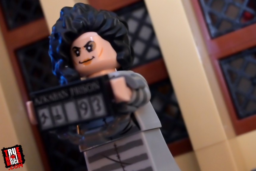 Bellatrix Lestrange from the Harry Potter collectible Minifigures