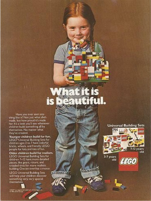 International Women's Day campaign from the LEGO® Group.