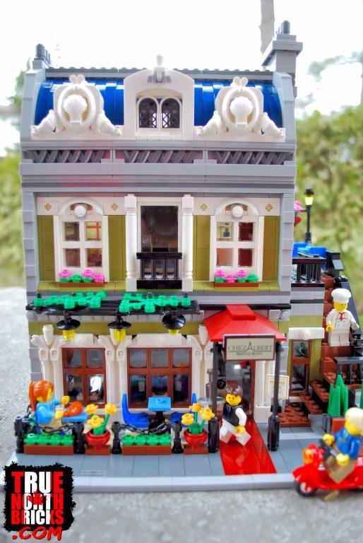 Parisian Restaurant (10243) front view.