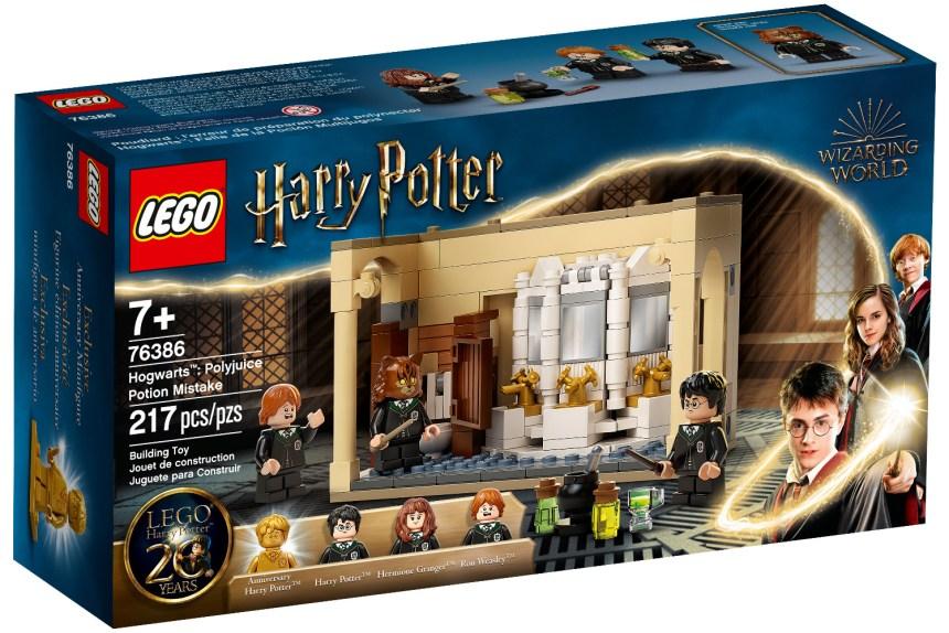 Summer 2021 Harry Potter Hogwarts Polyjuice Potion Mistake