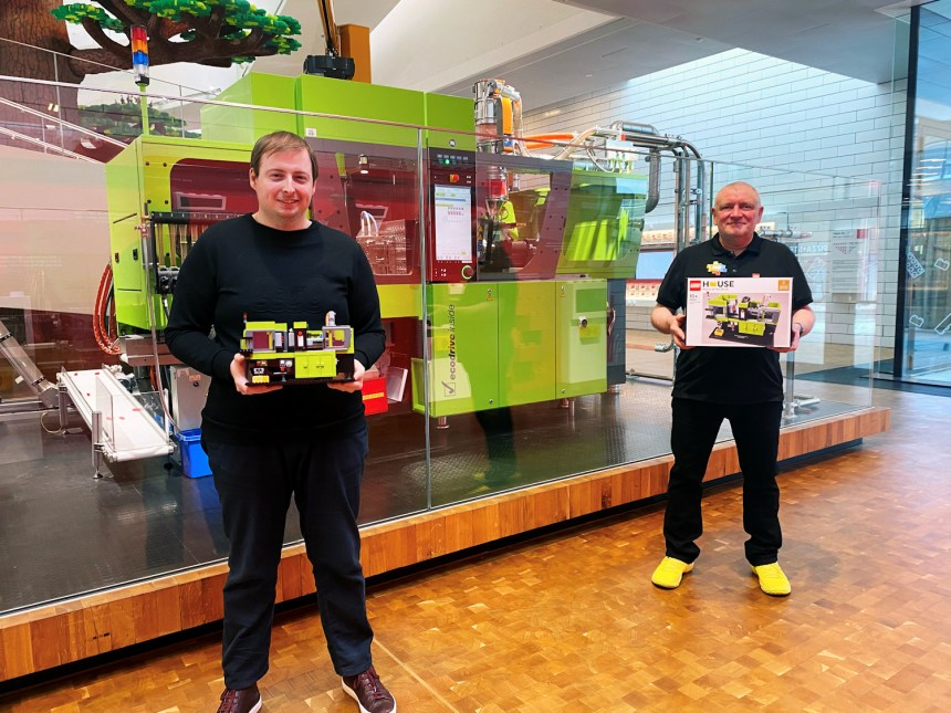 Designing the Brick Moulding Machine with Markus Rollbuhler and Stuart Harris.