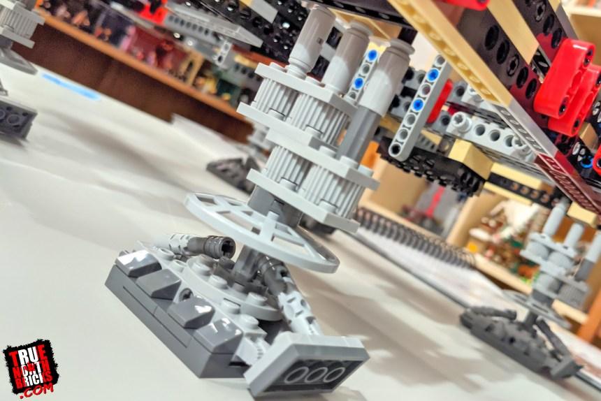 Millennium Falcon Day 2 Build Journal: landing strut.