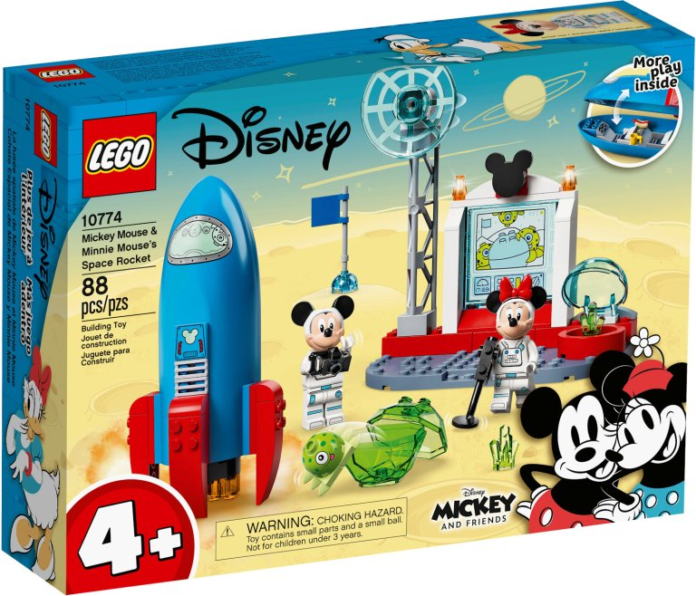 Mickey and Friends Coming Soon: Space Rocket