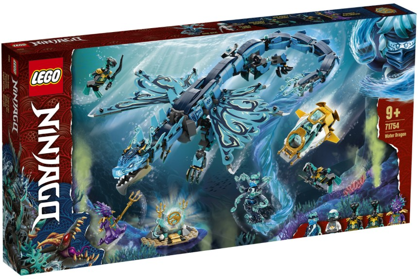 Summer 2021 Ninjago Water Dragon