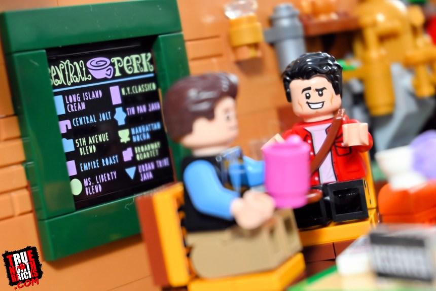 Central Perk (21319) menu
