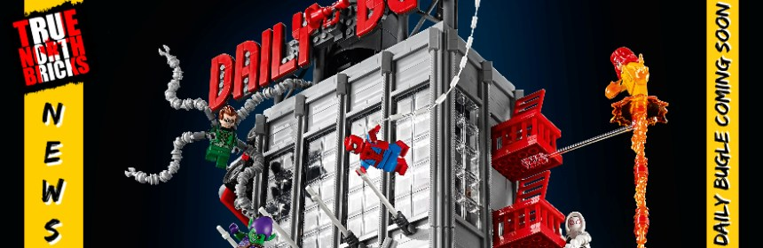 Daily Bugle Coming Soon from the LEGO Group