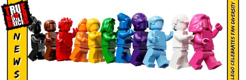 LEGO® Celebrates Fan Diversity