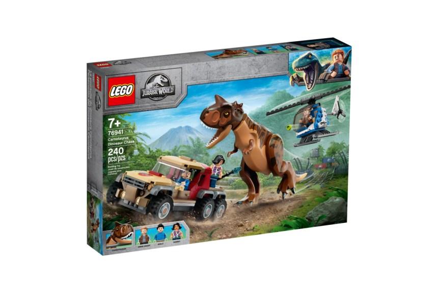 Fall 2021 Jurassic World Carnotaurus Dinosaur Chase