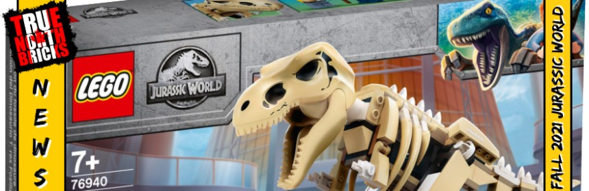Fall 2021 Jurassic World Sets