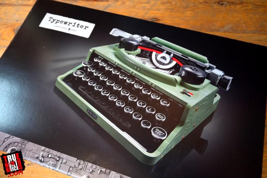 LEGO® Ideas Typewriter (21327) box art